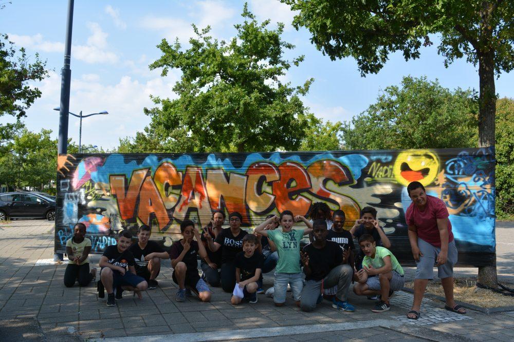 Activité street art hors les murs