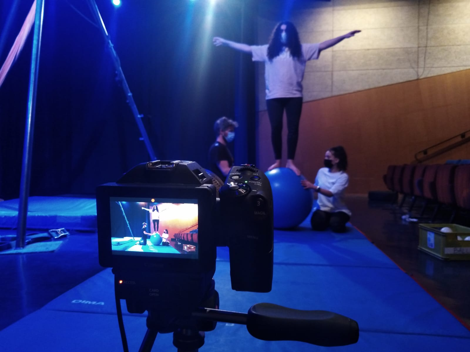 Stage cirque arien mjc jean cocteau